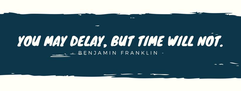 Ngưng trì hoãn.